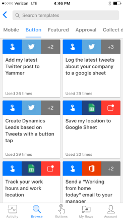 button-templates-microsoft-flow