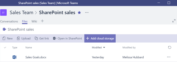 Teams File Management SharePoint