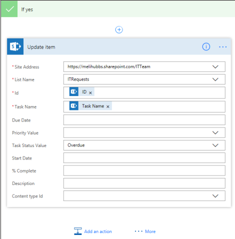 overdue sharepoint flow
