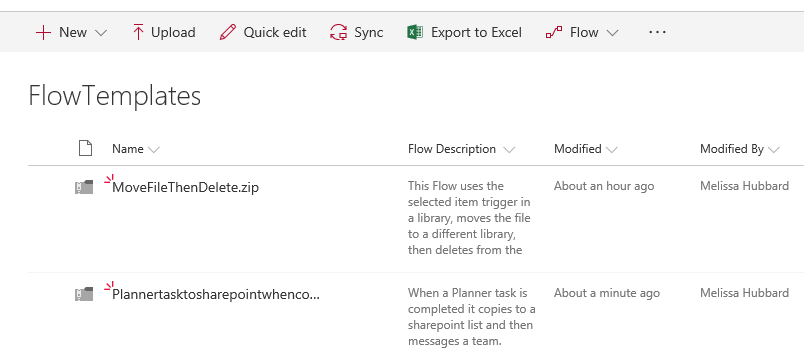 sharepoint template library