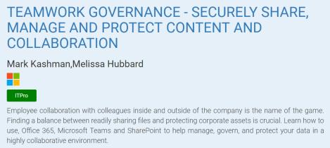 teamwork governance SPC